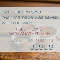 my wife fell in love with another man