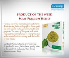 Richfeel-Tip of the day and Product of the week 20/08/2015