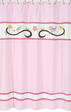 Song Bird Shower Curtain by Sweet Jojo Designs