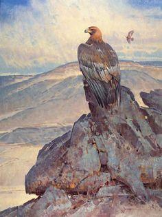 """High Desert Wind"" by Jim Morgan 30"" high X 40"" wide, oil on linen - Wood River Fine Arts"