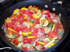 Summer's bestsauteed vegetables.