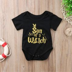 perfect no matter what house you're in! #witch #wizard #harrypotter #baby #harrypotterbaby #hogwarts #babyclothes #kids #toddlers