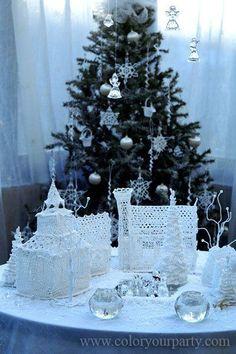 Crochet Christmas Village 2008 by kirakoktyah.com: