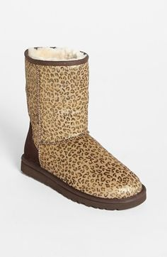 UGG® Australia 'Classic Short Exotic' Boot (Nordstrom Exclusive) available  at #