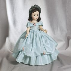 ~ Hard Plastic 'Story Princess' Doll By Madame Alexander ~ (1954)