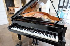 A grand piano in the foyer. Sip on some champagne while listening to live music. Wouldn't it be grand? Grand Piano, Wedding Music, Canapes, Receptions, Live Music, Foyer, How To Find Out, Wedding Venues, Champagne