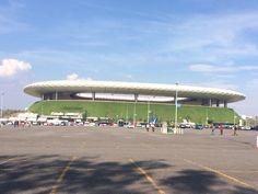 Estadio Omnilife, sede del equipo Guadalajara, ubicado en la zona del Bajío