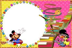 Marcos para fotomontaje online gratis. Categoría: Entretenimiento Disney Frames, Party Frame, Disney Printables, Disco Party, Online Gratis, Party Themes, Preschool, Entertaining, Stationary