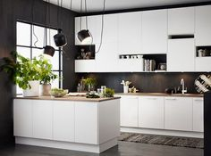The kitchen that is top-notch white kitchen , modern kitchen , kitchen design ideas! Kitchen Flooring, Kitchen Furniture, Kitchen Interior, Kitchen Decor, Kitchen Cabinets, Kitchen Ideas, Kitchen Hacks, Coastal Interior, Kitchen Backsplash