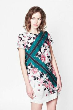 Floral dress by FCUK.