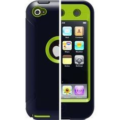 nice I Touch Cases | OtterBox Defender Case for iPod touch 4th Generation (Atomic)
