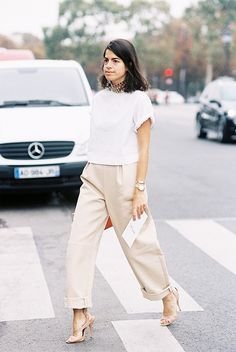 Outfit Inspiration! How You Wear Wide-Leg Trousers #streetstyle
