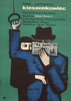 Polish Poster for Pickpocket (Robert Bresson, 1959)