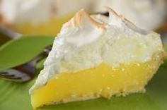 A Lemon Meringue Pie starts with a pie crust that is filled with a lemony cream filling and topped with a sweet and billowy meringue.  From Joyofbaking.com With Demo Video
