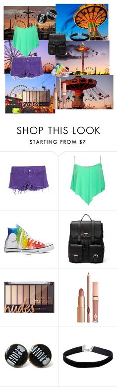 """""""State Fair"""" by cookiemonsterlove99 ❤ liked on Polyvore featuring J Brand, Pilot, Converse, Sole Society, Dolce Vita, Miss Selfridge, statefair and summerdate"""