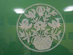 modern Idrija part lace