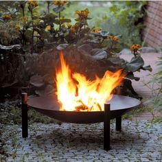 Feuerschale - Wie ein Lagerfeuer