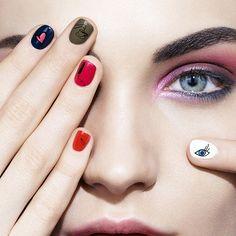 Sonia Rykiel x Lancôme Fall 2016 Collection #nails