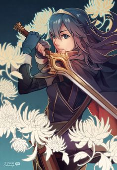 Lucina's Wish - Fire Emblem: Awakening by finni Fire Emblem Awakening, Character Inspiration, Character Art, Character Design, Super Smash Bros, Manga Art, Anime Manga, Starwars, Cosplay Anime