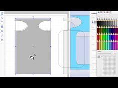 brother scan n cut tutorials Making a DIsplay Box - YouTube