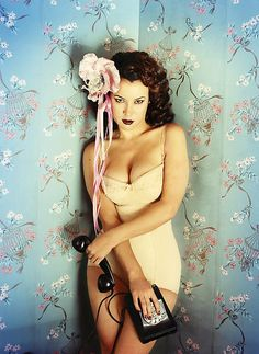 """pussylequeer: """" Jennifer Tilly by David LaChapelle """""""