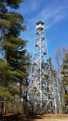 Hickory Ridge Fire Tower - Monroe County Indiana