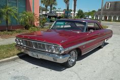 1964 Ford Galaxie We had one of these in solid black with red interior. 352 4 brl
