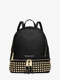 $129.99 - Rhea Small Studded Leather Backpack
