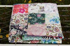 narzuta patchwork bohostyle w dom artystyczny na DaWanda.com