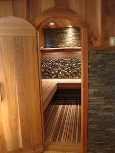How To Build A Sauna On A Budget Add a touch of comfort and build