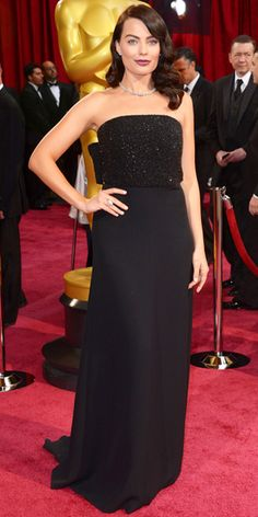 #Oscars #2014 Red Carpet Arrivals - Margot Robbie #RedCarpet #BestDressed  via #InStyle