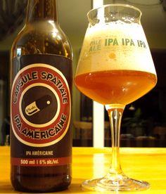 Capsule Spatiale – Microbrasserie Goudale | Craft Beer Québec #WestCoast #IPA #Québec #Microbrasserie #CraftBeer