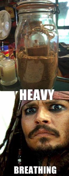 The jar of dirt!!!! :)