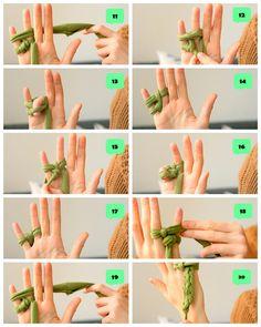 vidanullvier diy fr strickliesel anleitung zum armbnder und kettenstricken mit den fingern - Strickliesel Muster