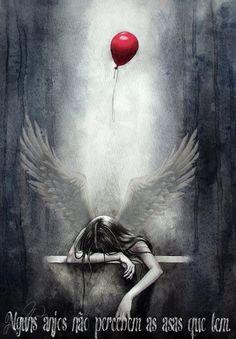Alguns anjos não percebem as asas que tem...