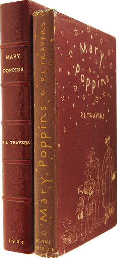 P. L. Travers. Mary Poppins. Illustrated by Mary Shepard. New York: Reynal & Hitchcock, [1934]