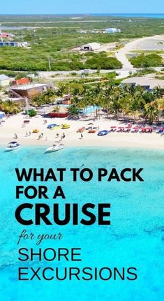 What to pack for cruise shore excursions. Cruise outfits: Things for ultimate cruise packing list, what to pack for Caribbean. Cruise packing tips - Carnival, Royal Caribbean, Disney, NCL, Princess. While you're at it, think cruise formal night too! caribbean cruises. #cruise #cruisetips