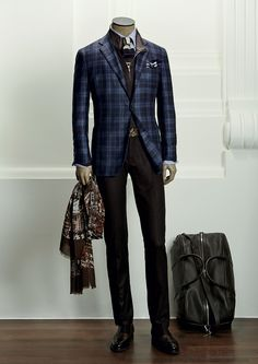 That Kiton Jacket! Sharp Dressed Man, Well Dressed, Gentleman Mode, Gentleman Style, Mens Fashion Suits, Mens Suits, Stylish Men, Stylish Outfits, Mens Attire