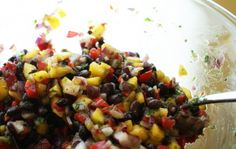 I call it Cuban because it has black beans in it, something my husband could eat with every meal. This is an easy, flavorful side that tastes great with grilled tilapia or salmon! Cuban Recipes, Vegetarian Recipes, Healthy Recipes, Mini Appetizers, Appetizer Recipes, Grilled Tilapia, Cuban Dishes, Cuban Cuisine, Tasty Kitchen