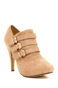 Lake Buckle Ankle Bootie