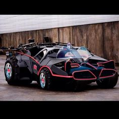 Batman& Tumbler Gets an Awesome Batmobile Makeover! - News - GeekTyrant I& not even a fan and this is killer. Automobile, Batman Batmobile, Batman Car, Batman 1966, Batman Stuff, Weird Cars, Amazing Cars, Awesome, Dark Knight
