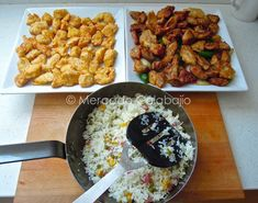 Mercado Calabajío: Comida china casera. Mejoras en nuestros platos preferidos