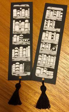Zentangle bookmarks avec des glands - Meditarte Zentangle by Dina Blaj Schaffer - Bookmarks For Books, Creative Bookmarks, Cute Bookmarks, Bookmark Craft, Corner Bookmarks, Diy Marque Page, Watercolor Bookmarks, Book Markers, Zentangle Patterns