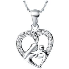 Mothers Day Gifts for Mom 925 Sterling Silver Necklace Fashion Necklaces for Women