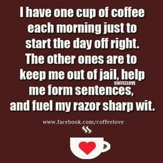 BE SHARP in the morn.  Get your Geeter-on.  coffeeFIEND.