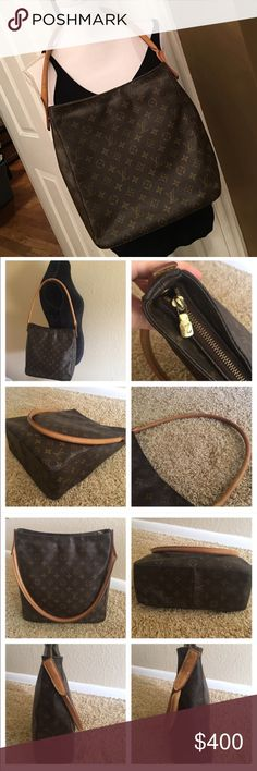 Authentic Louis Vuitton Looping GM Authentic Louis Vuitton Looping GM. Description in photos! Thanks :) Louis Vuitton Bags Shoulder Bags