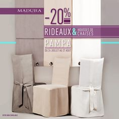 PROMOTION!!!!  -20% Off on PAMPA Curtains and Chair Covers (Until August 27th 2013), By MADURA
