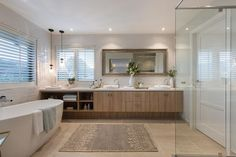 A more refined look to that of Bordeaux, it showcases the refined classic French feel with the Champagne France interior design style by Porter Davis Bathroom Renos, Bathroom Ideas, Ensuite Bathrooms, Bathroom Inspo, Bathroom Designs, Porter Davis, New Home Designs, Bathroom Interior Design, Amazing Bathrooms