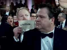 Modern family... when Eric Stonestreet winned the Best Supporting Actor