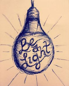 lightbulb drawing | ink me. | Painted light bulbs ...